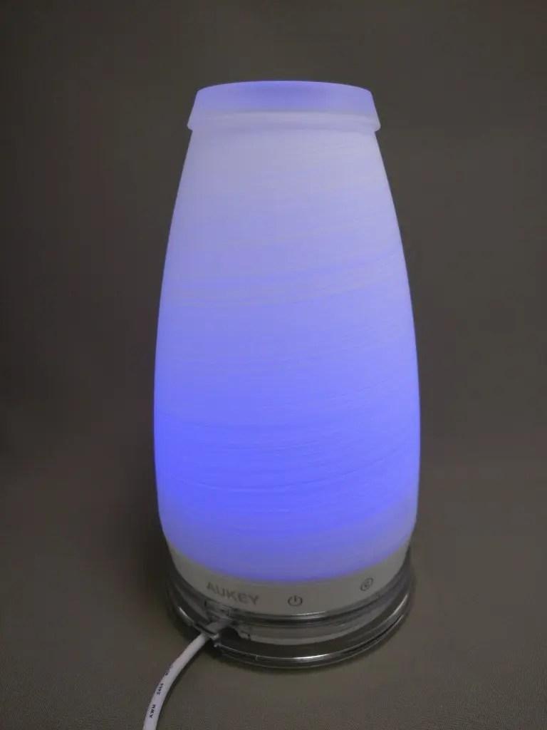 AUKEY LEDライト 花瓶 1W USB充電 LT-ST14 青