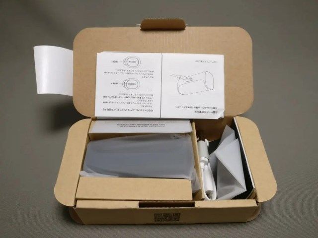 QCY Q29 完全分離型 両耳 Bluetooth ワイヤレスイヤホン 化粧箱 開封
