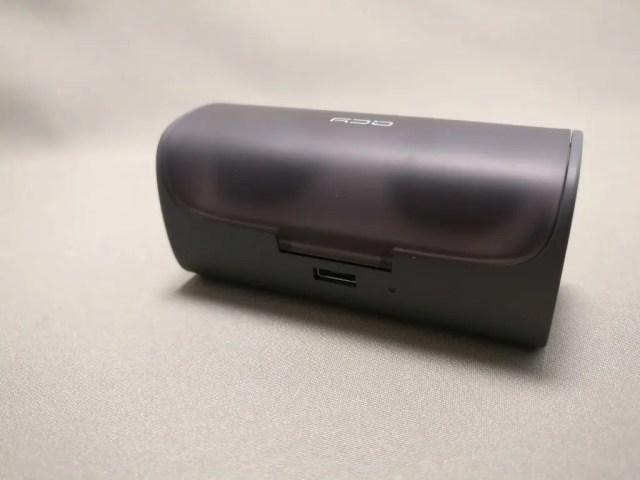 QCY Q29 完全分離型 両耳 Bluetooth ワイヤレスイヤホン ケース 裏