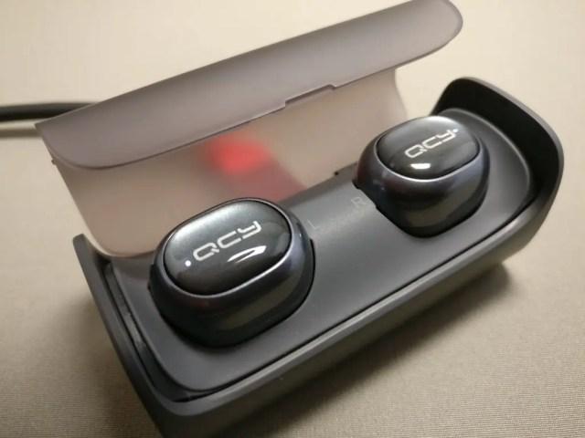 QCY Q29 完全分離型 両耳 Bluetooth ワイヤレスイヤホン 充電ランプ