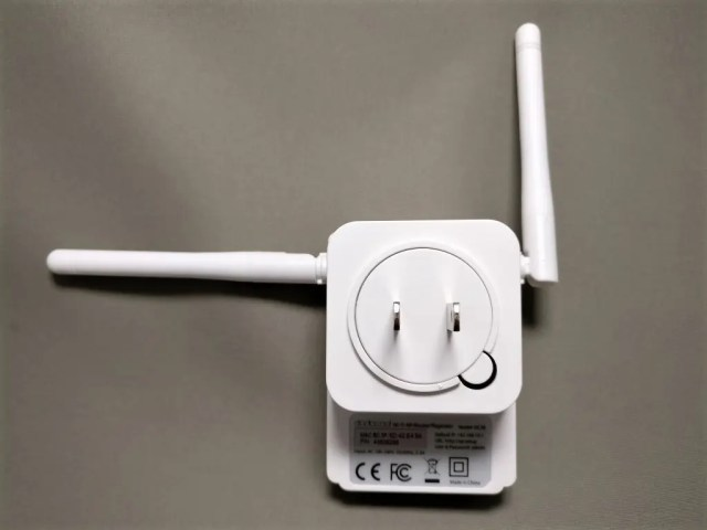dodocool N300 Wifiルーター・中継器・APモード 3役 11g/b/n対応 300Mbps コンセント直挿し 裏面