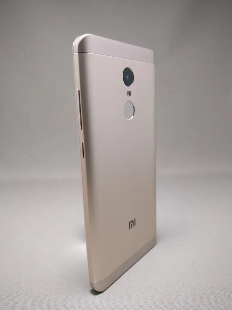 Xiaomi Redmi Note 4X 裏面 9