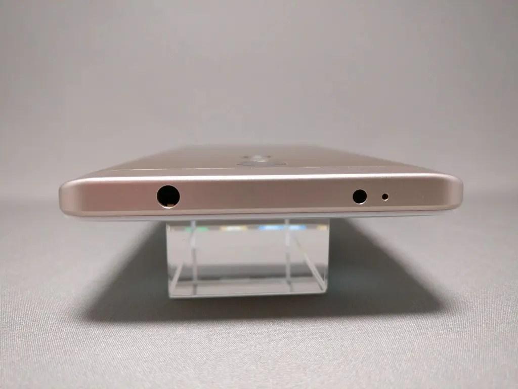 Xiaomi Redmi Note 4X 側面 上
