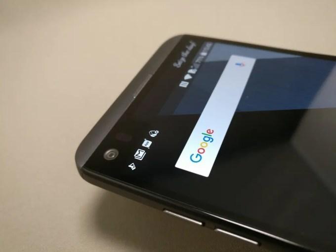 LG V20 Pro 表上のほう