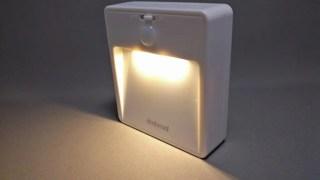 dodocool LEDナイトライト人感センサー 手動スイッチ有り レビュー 25%Offクーポンあるヨ