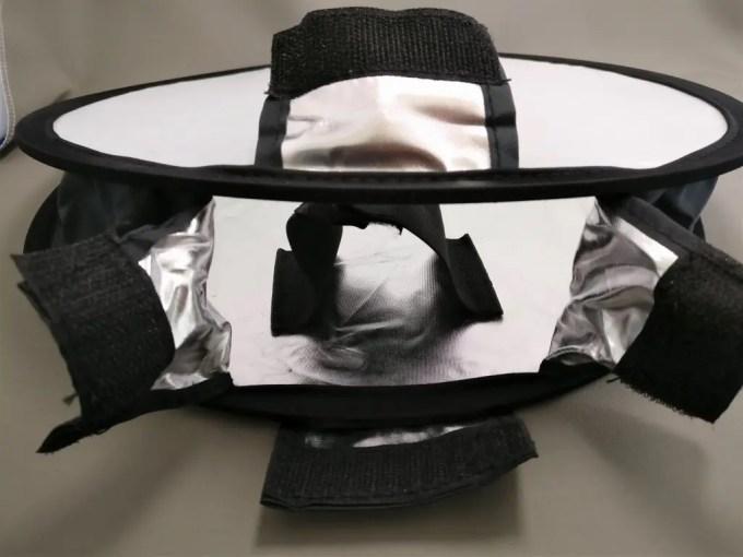 30cmポータブルミニ丸ソフトボックス ライトボックス 中の構造