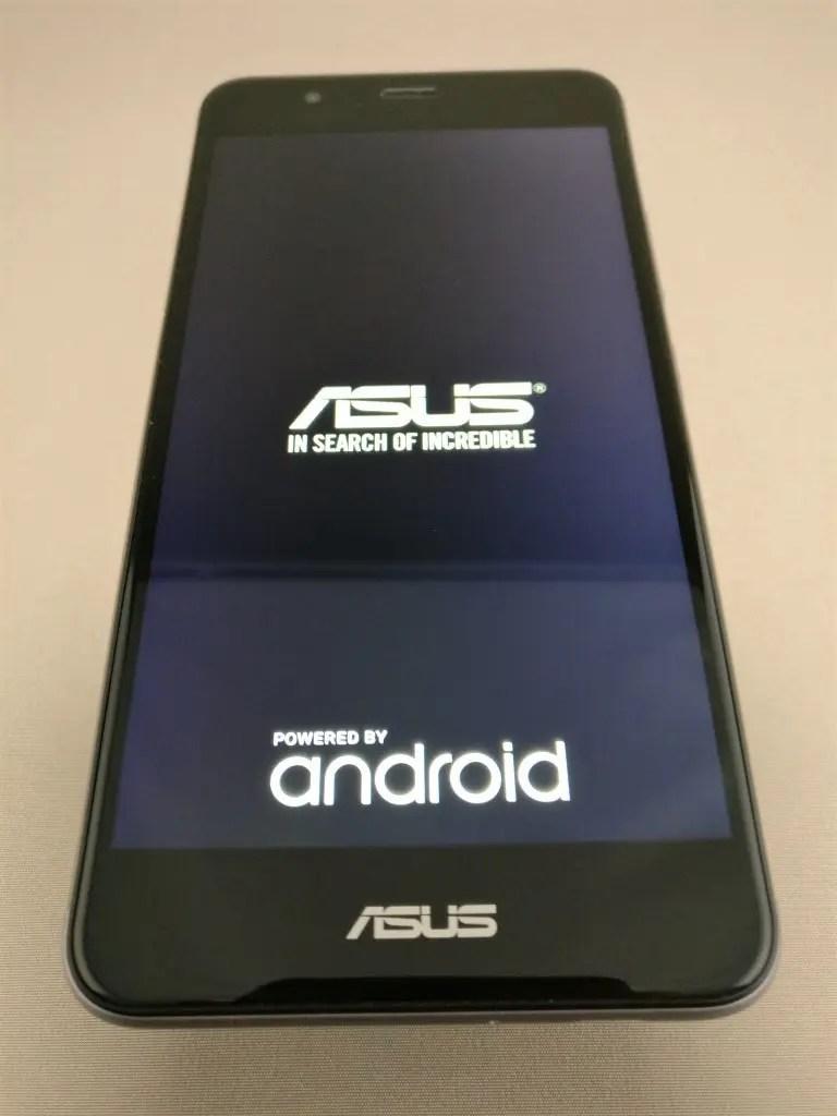 ASUS Zenfone Max 3 起動1