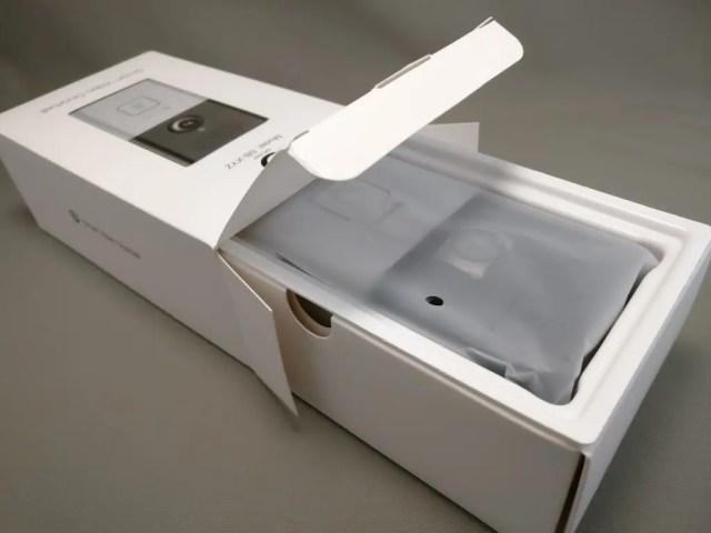 Digoo SB-XYZ ドアベル 化粧箱 開封
