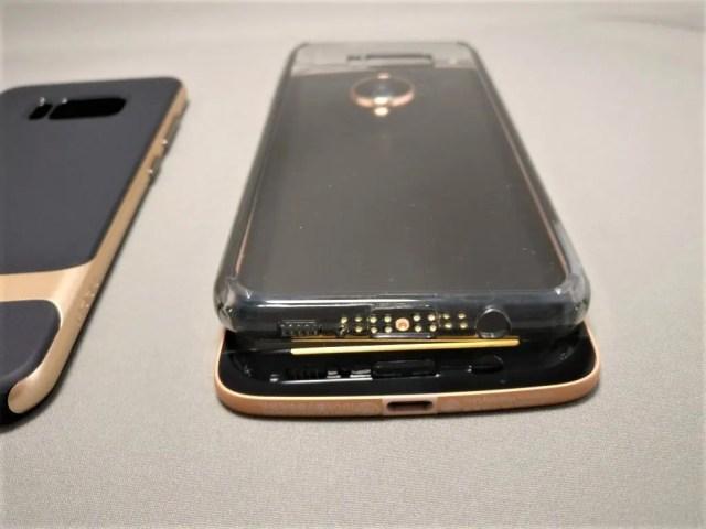 Galaxy S8+ ケース Lenovo Moto Zに
