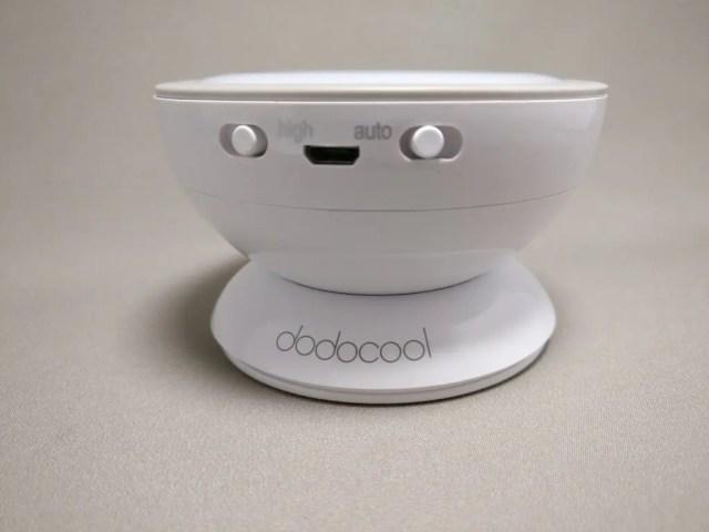 dodocool 0.5Wx5LEDセンサーライト マグネット台に載せる