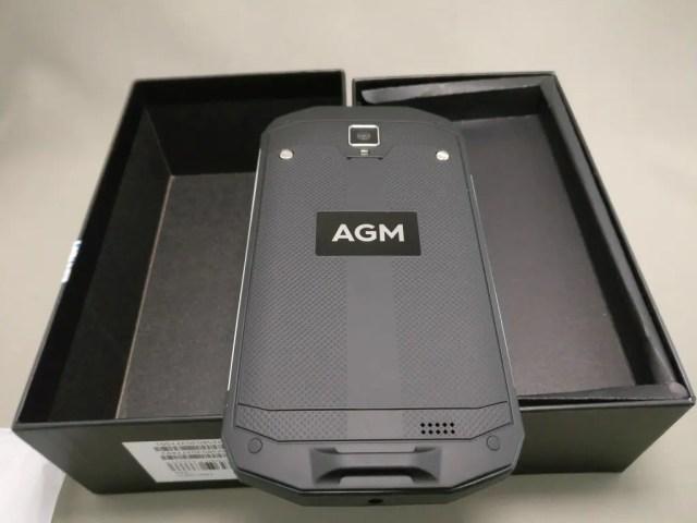 AGM A8 開封 裏