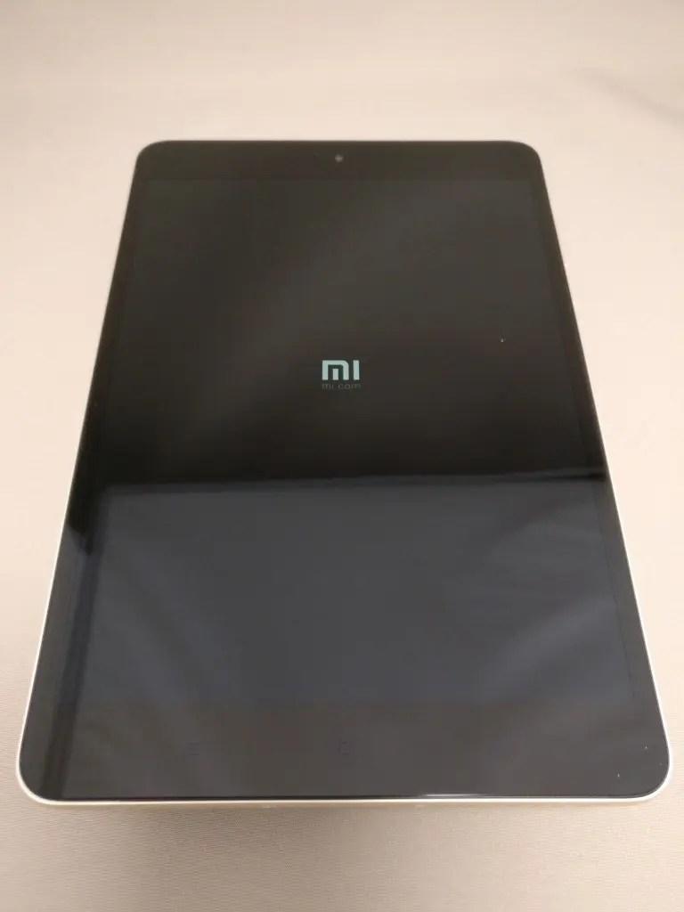 Xiaomi Mi Pad 3 起動 1