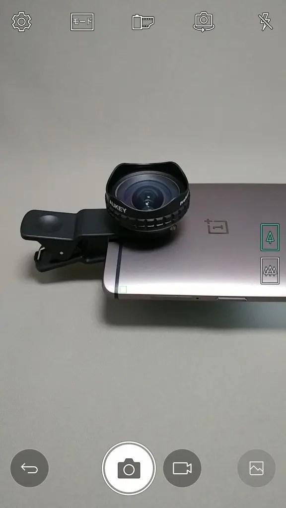 LG V20 Pro カメラ モード > オート 起動時 OnePlus3T