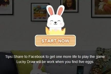 Banggood 2017 ハッピーイースター ゲーム START NOW