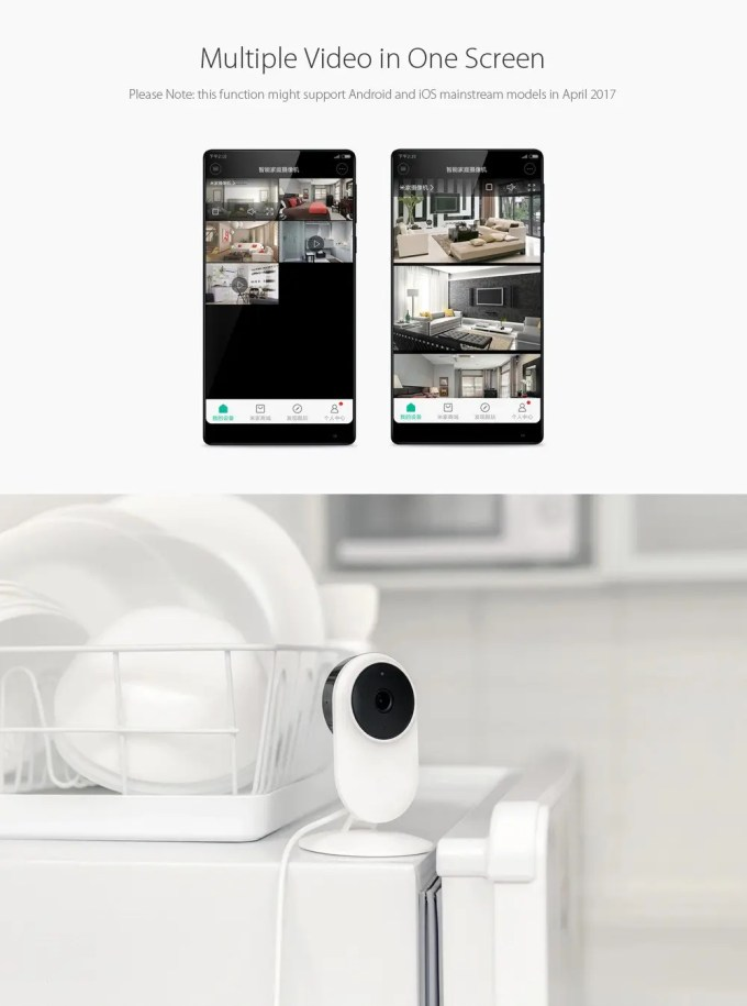 Xiaomi 1080P IPカメラ 1