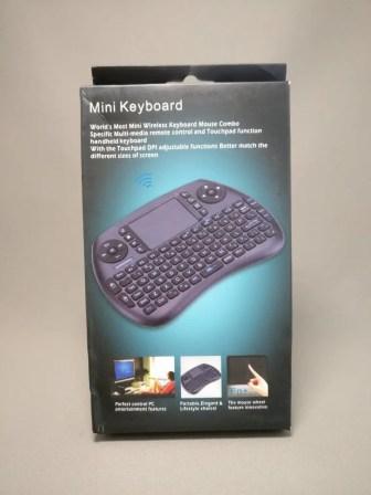 iPazzPort Mini Keyboard 化粧箱 表
