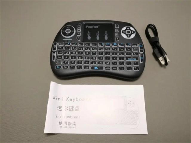 iPazzPort Mini Keyboard 開封