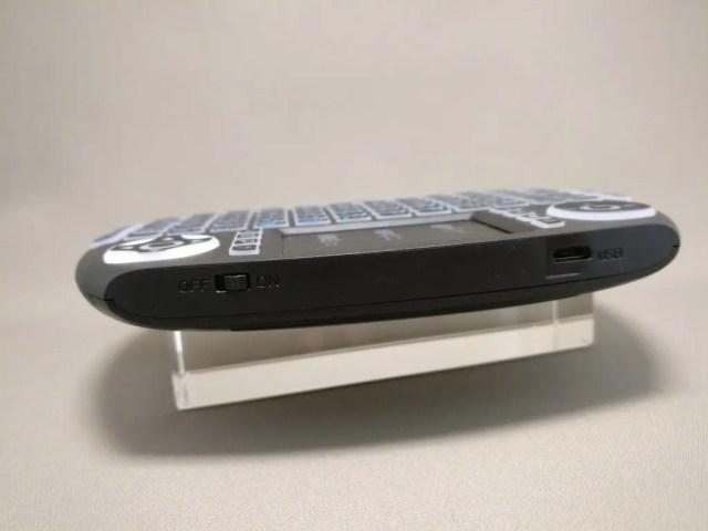 iPazzPort Mini Keyboard 上