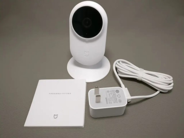 Xiaomi 1080P IPカメラ 開封 セット