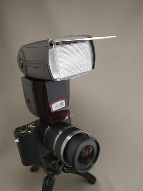 Andoer AD-560ⅡをXiaomi YI M1に装着ズーム