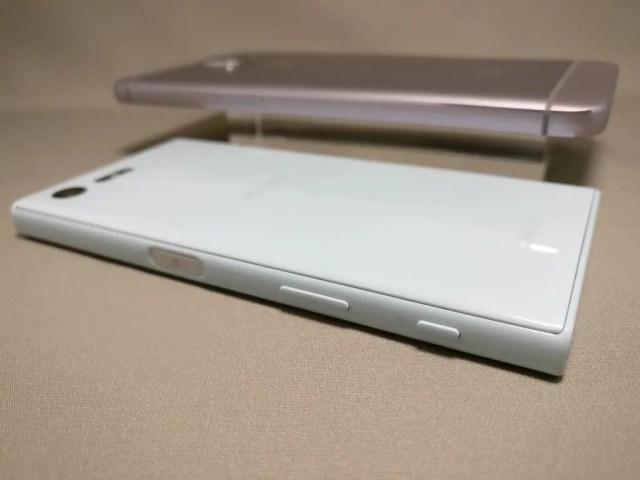 LeEco Le Max 2 X829とXperia X Compact 裏 ズーム