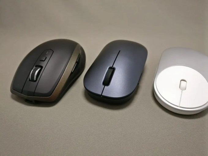 XIAOMI 1200DPI 2.4GHz 4 Buttons Wireless Optical Mouse For PC Laptop 他マウスと比較
