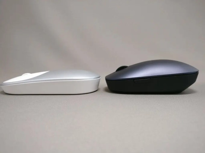 XIAOMI 1200DPI 2.4GHz 4 Buttons Wireless Optical Mouse For PC Laptop 他マウスと比較 高さ 低い