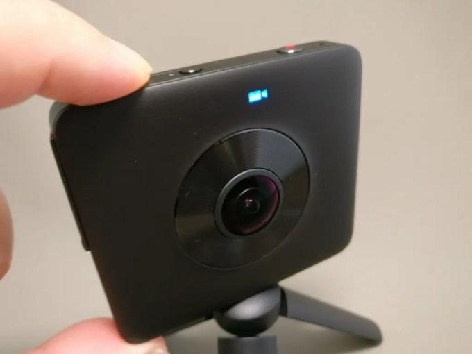 Xiaomi mijia 3.5K Panorama Action Camera ビデオに切り替え