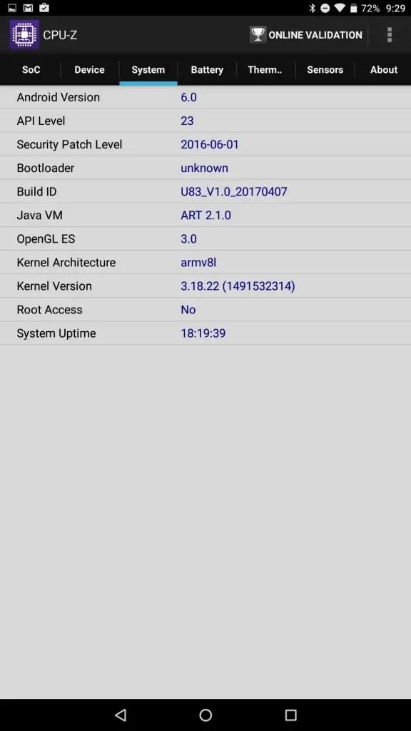 Cube iplay 10 CPU-Z 4