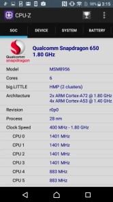 Xperia X Compact CPU-Z Soc