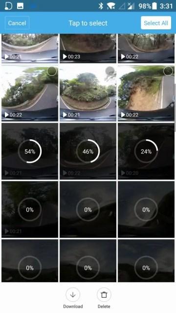 Mi Sphere Cameraアプリでスマホにダウンロード
