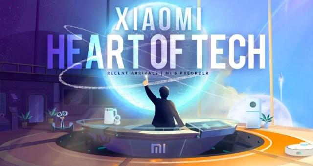 Xiaomi Heart Of Tech