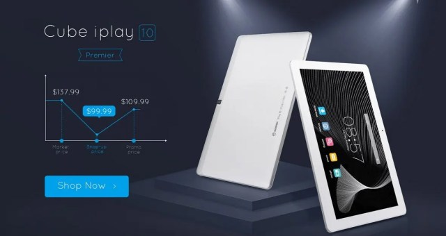 Cube iplay 10 99.99ドル キャンペーン