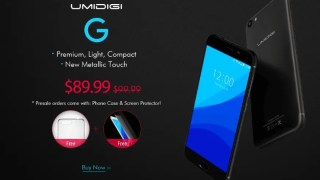 【Banggood】プレセール2機種 UMIDIGI G 89.99ドル + Xiaomi Mi Note 2クーポン適用で377.90ドル