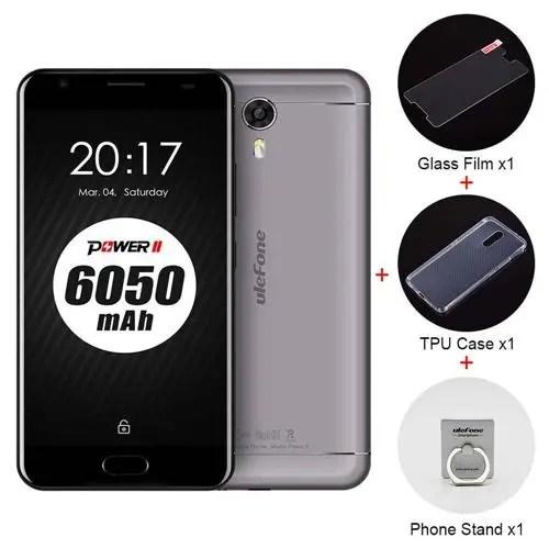 geekbuying Ulefone Power 2 MTK6750T 1.5GHz 8コア GRAY(グレイ)