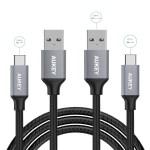 AUKEY USB Type-Cケーブル5本セット 600円Offクーポン 第1弾:本日~6/27、第2弾:7/1~7/7
