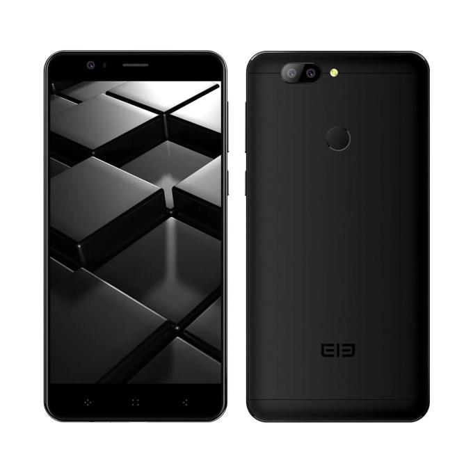banggood ELEPHONE P8 Mini MTK6750T 1.5GHz 8コア BLACK(ブラック)