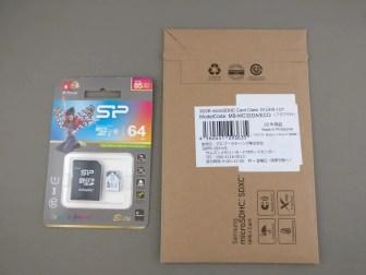 MicroSDカード 2枚 2