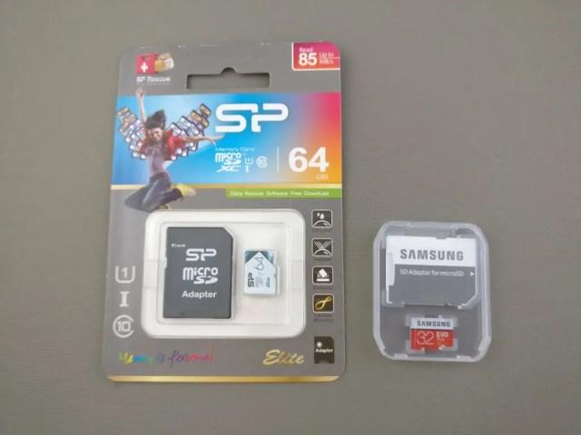MicroSDカード 2枚