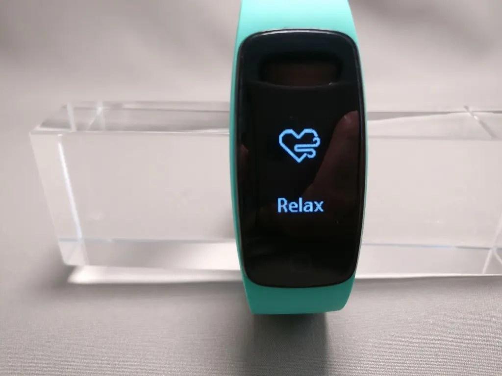 Makibes ID107 Plus スマート ブレスレット 腹式呼吸