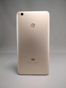 Xiaomi Mi Max 2 裏面 影4