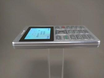 SATREND A10 GSM ミニカードフォン 側面 左