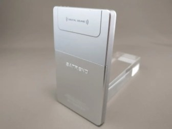SATREND A10 GSM ミニカードフォン 裏右