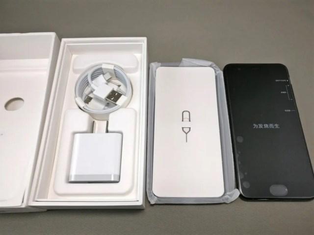 Xiaomi Mi6 開封 付属品