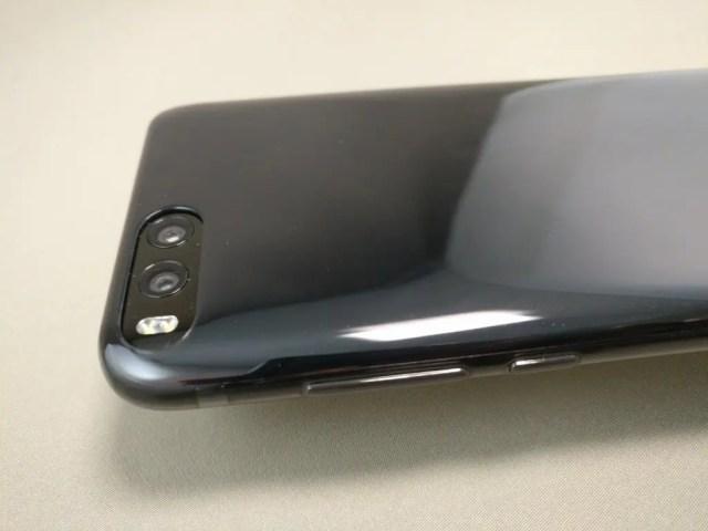 Xiaomi Mi6 開封 付属品 ソフトケース 装着 リアカメラ
