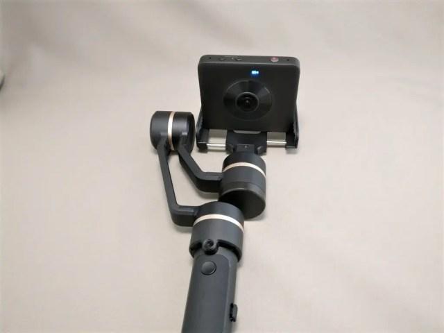 3軸ハンドヘルド ジンバル 360度カメラは無理