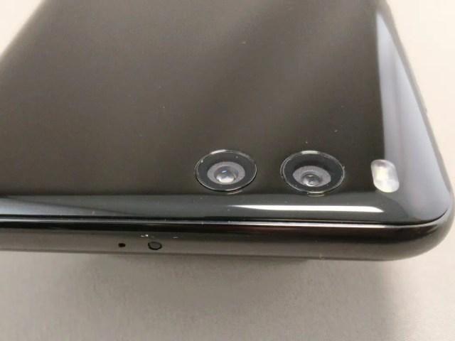Xiaomi Mi6 デュアルカメラ ズーム