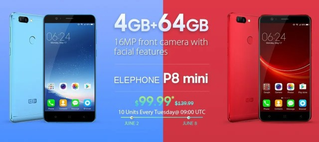 Geekbuying ELEPHONE P8 Mini