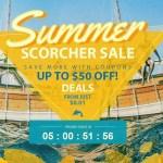 【GearBest】最大50ドルOff Summer Scorcher Sale + デイリークーポン