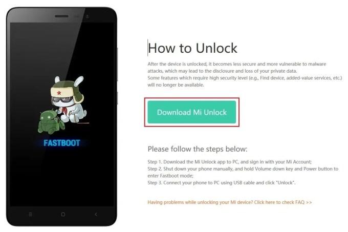 Mi Unlock ダウンロード